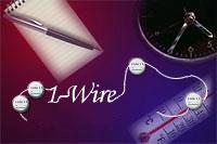 На базе устройств iButton также возможно построение 1-Wire-сети.